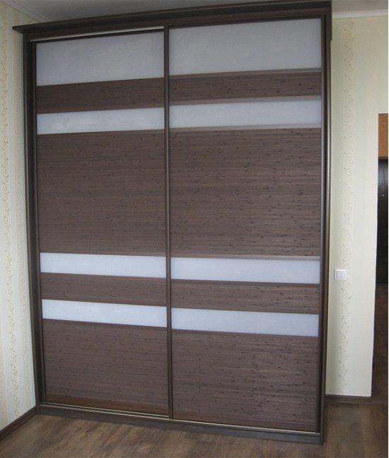 Двери для шкафа-купе бамбук