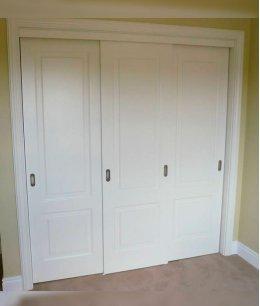 Двери для встроенного шкафа из мдф