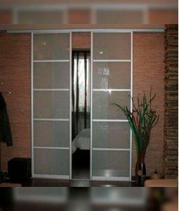 Раздвижные двери 82 см