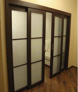 Раздвижные двери межкомнатные в зал