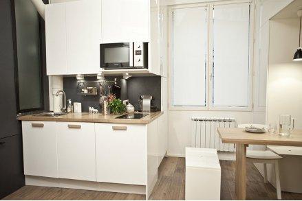 Маленькая кухня в студию