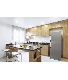 П-образные кухни в стиле минимализм