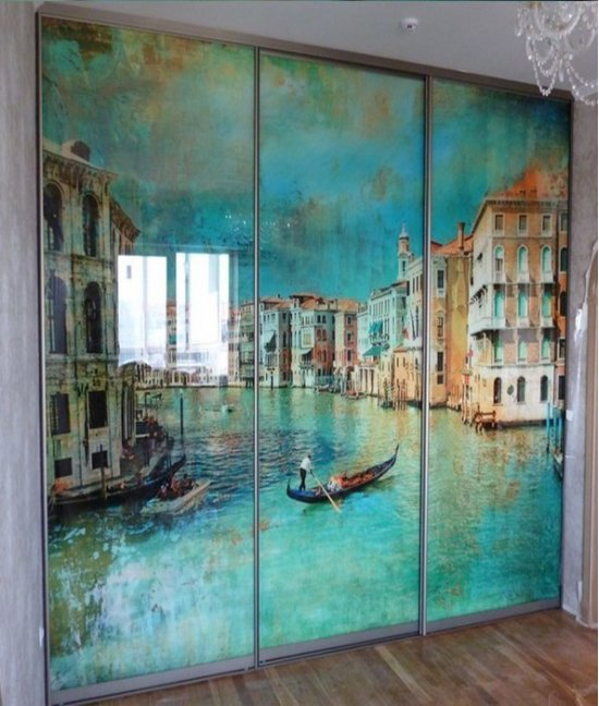 Фотопечать шкафы купе венеция
