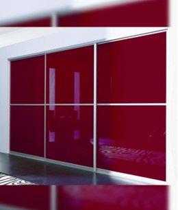 Шкафы купе премиум класса со стеклом лакобель