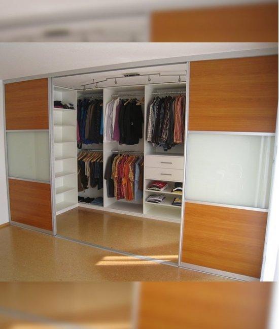 Встроенный шкаф гардеробная